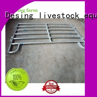 Desing unique livestock fence panels easy-installation fast delivery
