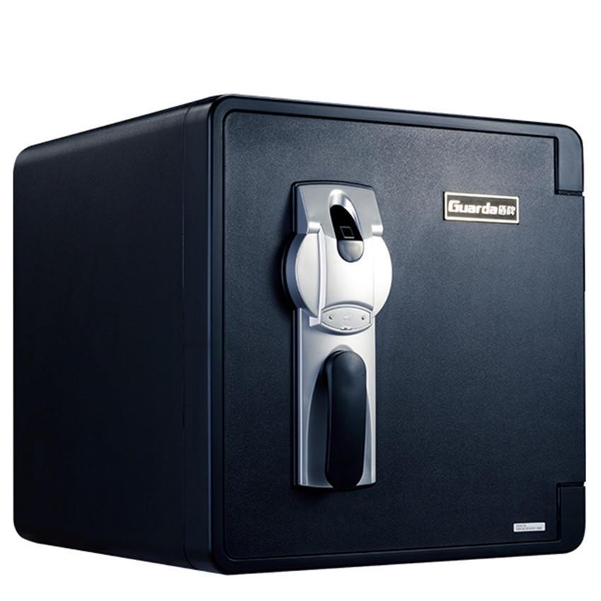Guarda 2092LBC euro-american fire protection biometric plastic fire water proof a4 files safe box
