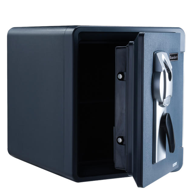 Guarda fingerprint safe box ,fire resistant for 60mins,Waterprooffor 8 Hours 300mm underwater,2087LBC