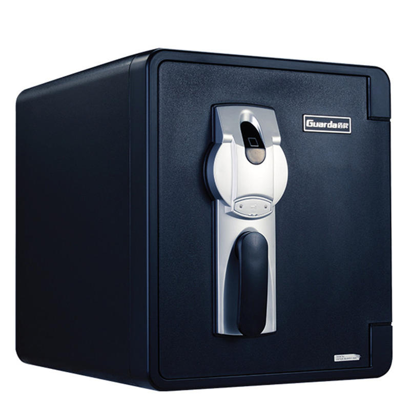 Multifunctional safe box with fireproof and waterproof ,security and easyusing 2087LBC-BD