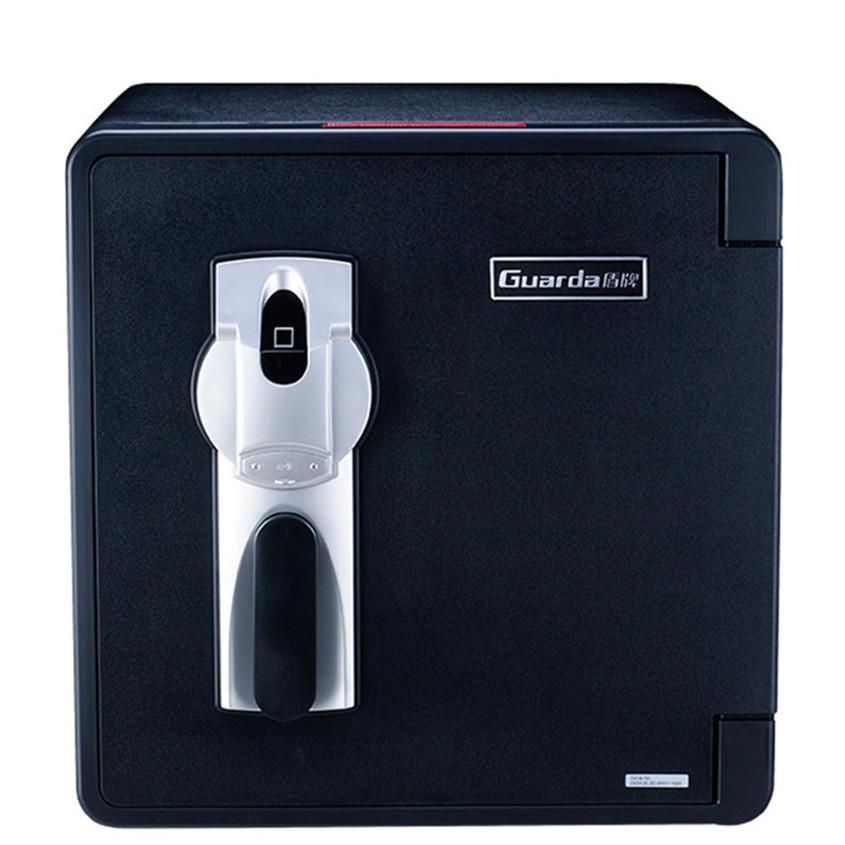 Fireproof Fire Resistant Document safes for File Passport Photos,with smart flexible fingerprint safe (2092LBC-BD)