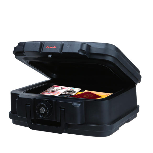 Small Fire rated 30 mins safe box,24 hour completely Waterproof chest (2117)