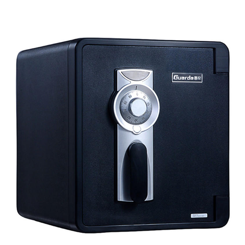 1 hour fireproof Hot Sale Home&Office combination dial lock hidden safe