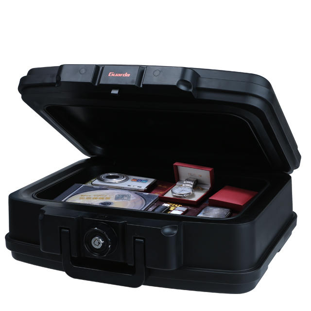 Lightweight portable fire waterproof security safe box,30-Min for home fire safe box (2125)