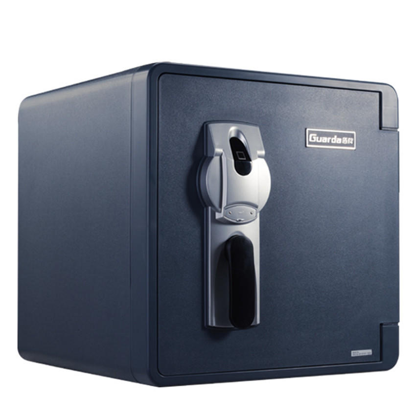 Fireproof document safe box with fingerprint lock 2092LBC for home fireproof