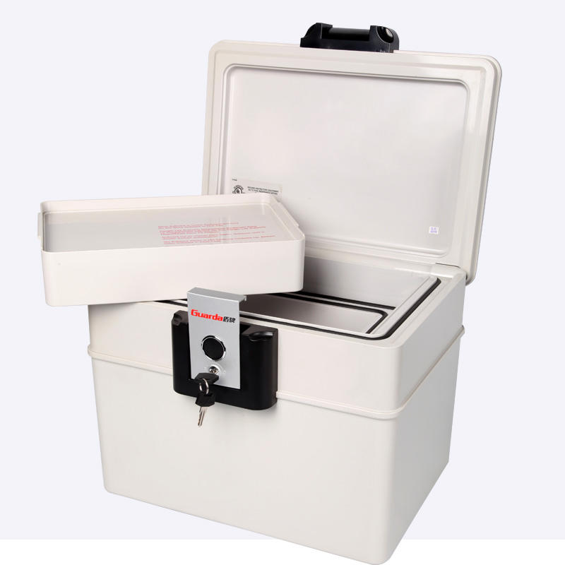 Customized resin security fireproof safe box for personal records safety