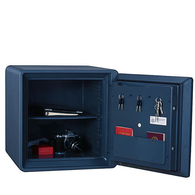 Floormounted Home Fingerprint Safes for Fire Protection