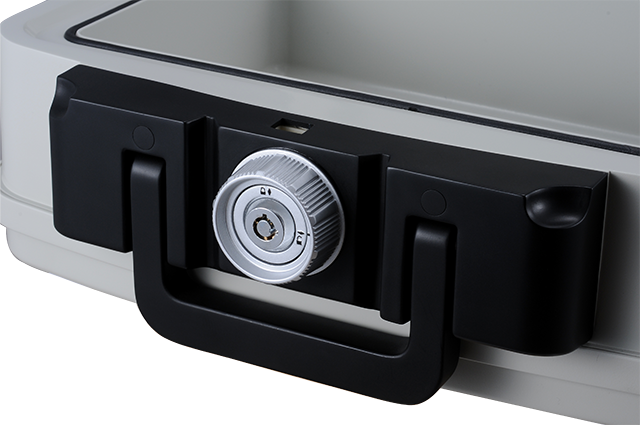 1/2 hour fireproof safes for home with Easy-to-use turn knob, waterproof for up to 24 hours