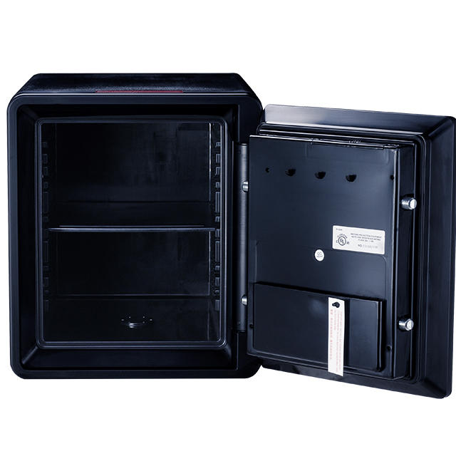 Fingerprint cash box with 2 keys and 1 year warranty