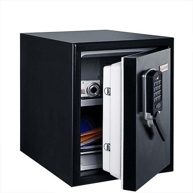 120 Mins Fire Resistant Digiatl Safe Box 370*513*450mm, Steel External, Resin Internal