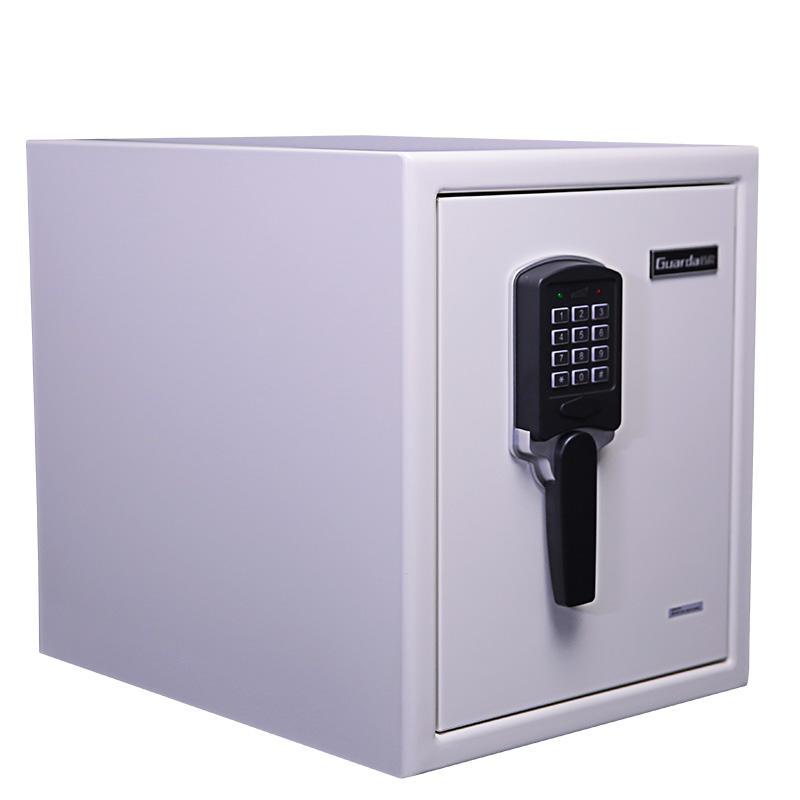 White Color Digital Lock 120-Mins Fire Proof Waterproof Safe 370*513*450mm, Safe for Home Fireproof