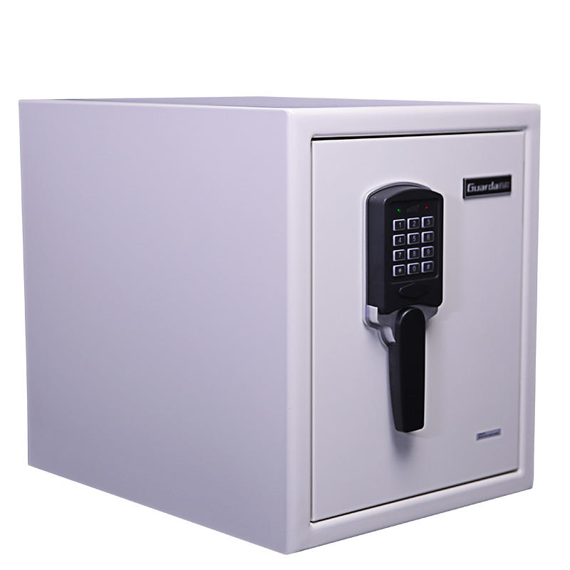 White Color Digital Lock 120-Mins Fire Proof Waterproof Safe 370*513*450mm, Safe for Home Fireproof