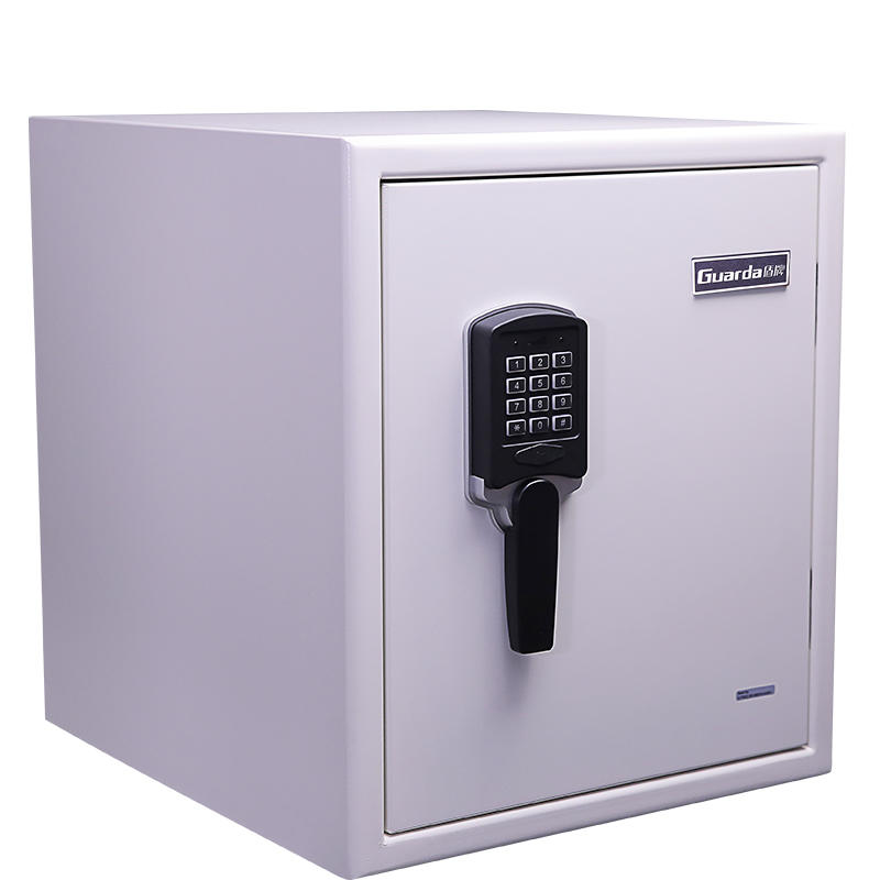 Steel External 120 Mins Fire Resistant Safe Box, White Color, Digital Lock, 461*548*528mm, 85.4kg