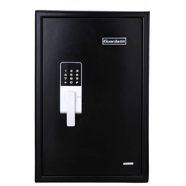 Large Size Touch Screen Code Lock 2 Hour Fireproof Waterproof Safe with 7 Solid Bolts for Home & Office Safety