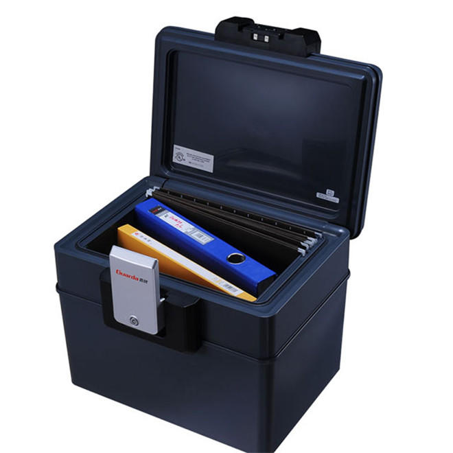 1/2 hour fire protection and fully 8 hour water protection files safety box,key lock safe