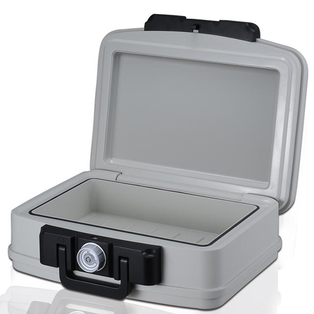 Excellent quality professional fire proof afe box with tubular key lock safe box,UL Certification