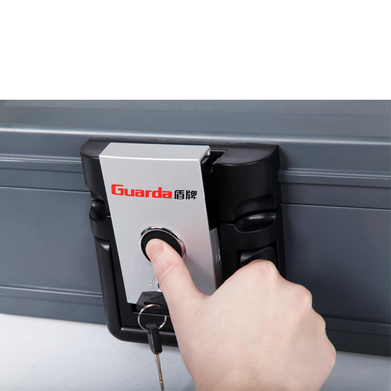 Fireproof Document safe Security box Storage chest,key lock 2011 Guarda