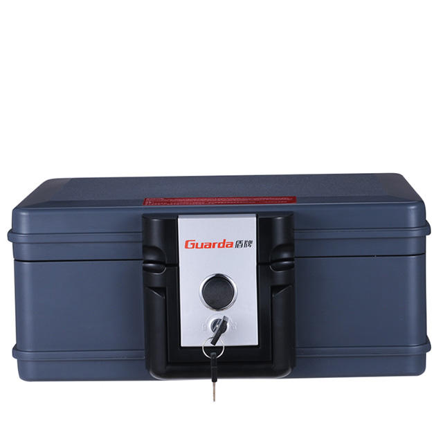 Fire prood safe box,Small certificates/cards storage waterproof chest with handle 2013C Guarda