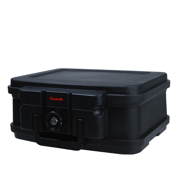 Waterproof Fireproof Safety Box Safe 382*324*165mm with Tubular Key and Turn Knob Button