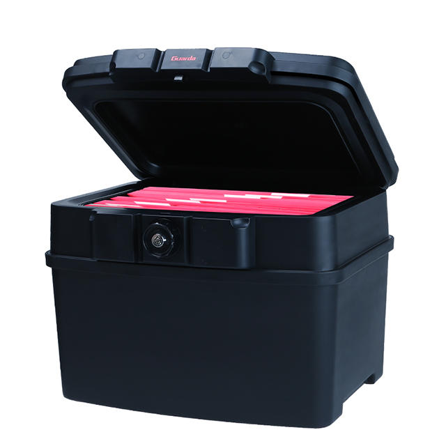 Guarda2162 Fireproof chest and WaterproofSafeChest UL72-350 30 minutesFits A4 and letter size hanging file folders