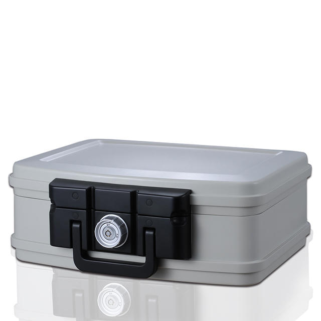 Guarda Safes & Turnnob Locks-30mins Fire Safe Waterproof Safe Box portable Chest , Small , 2125 (White)