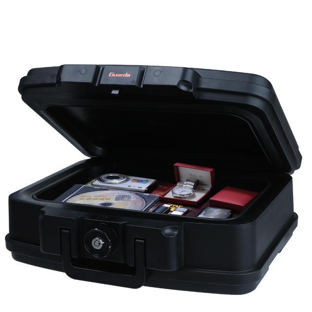 Custom Fire Safe with 2 tubular keys