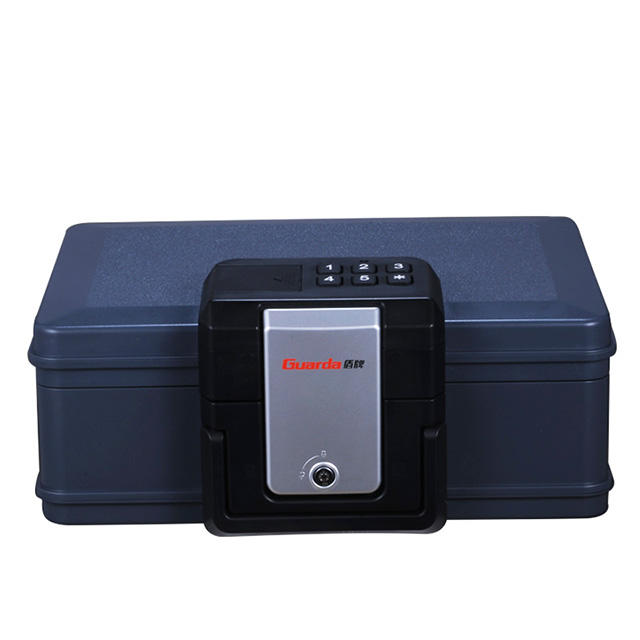 30mins Light Grey Color Fireproof Waterproof Safe Box 407*322*174mm with Electronic Lock