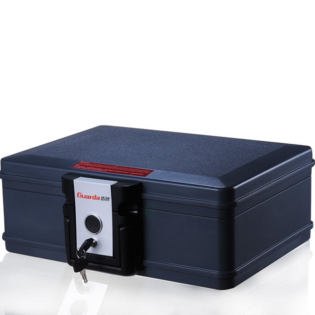 UL Fireproof Waterproof Safe Chest 407*321*155mm, with Mechanical Lock