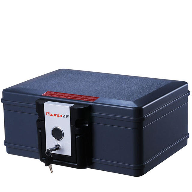 B5 Size 30 Mins Fireproof Waterproof Safe Chest 354*282*154mm with Key Lock