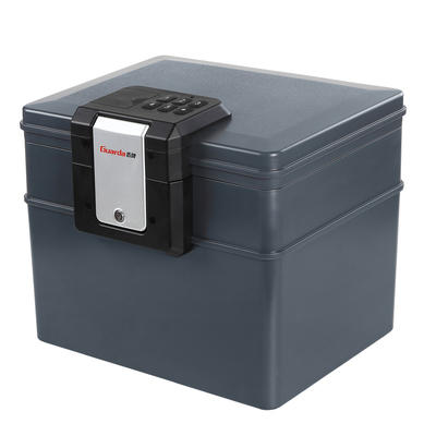 Guarda 1/2 Hour Fireproof Hanging File Safe Box & Completely Waterproof Safe Chest, Electronic Lock Safe