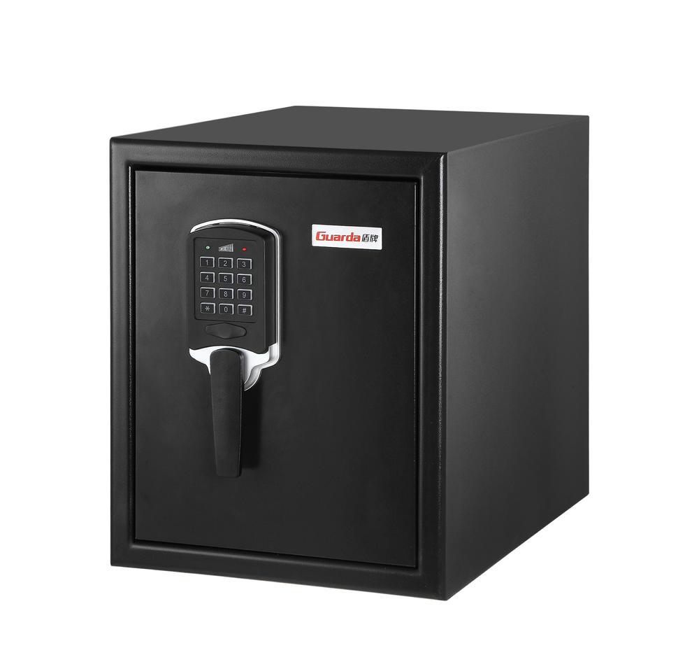 Firesafe waterproof safe Electronic digital keypad,Steel exterior, resin interior(W370mm*D513mm*H450)