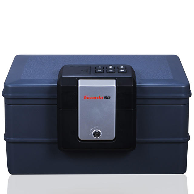 0.35cuft Electronic Safe Box with Clamping Single Latch Lock