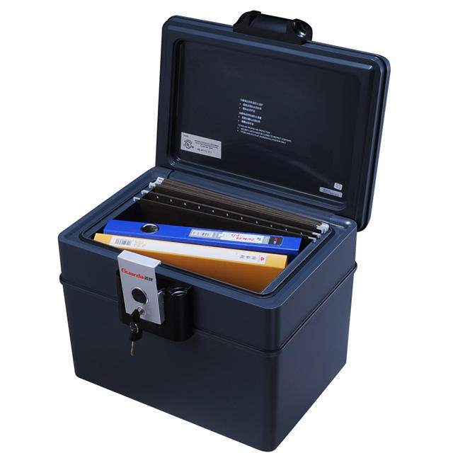 File Safe Lock Box for Fireproof Waterproof 0.59 Cuft