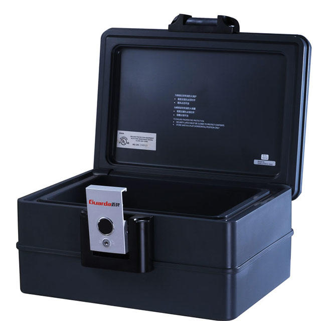 Security Metal Portable Filing Safe Box