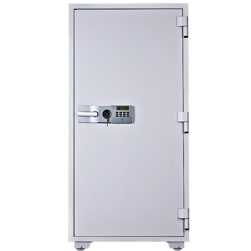 Dual key and digital lock entry cold rolled steel fire proof safe with Drawer compartment ,JIS 2 hour fire-resistant