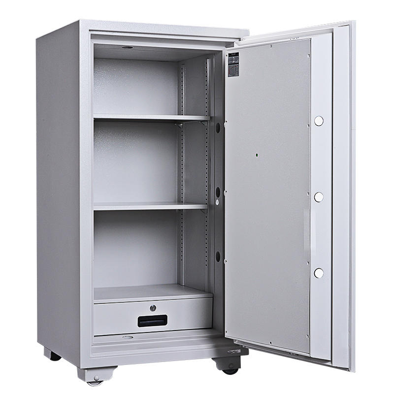 GUARDA Filing storage fire proof safe Cabinet with Adjustable shelves and Drawer interior