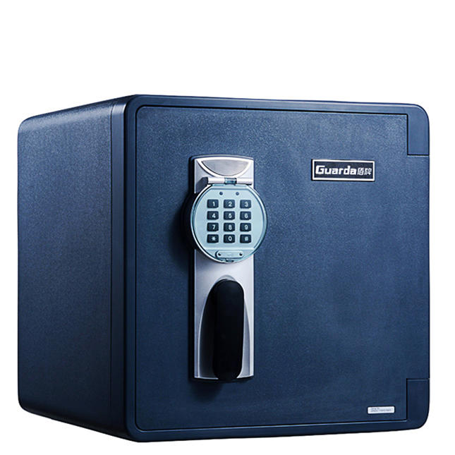 Guarda 1-Hour Medium Fire Resistant Water Resistant Valuables Safe Box, Electronic Money Safe