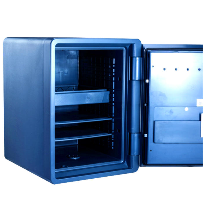 Guarda 1-Hour Biometric Fingerprint Lock Fire Resistant and Waterproof Safe, 59L