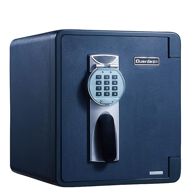 Fire & Water protection Home Used Digital Passwords Security Safe Box,Plastic surface antiseptic(2087DC-BD)