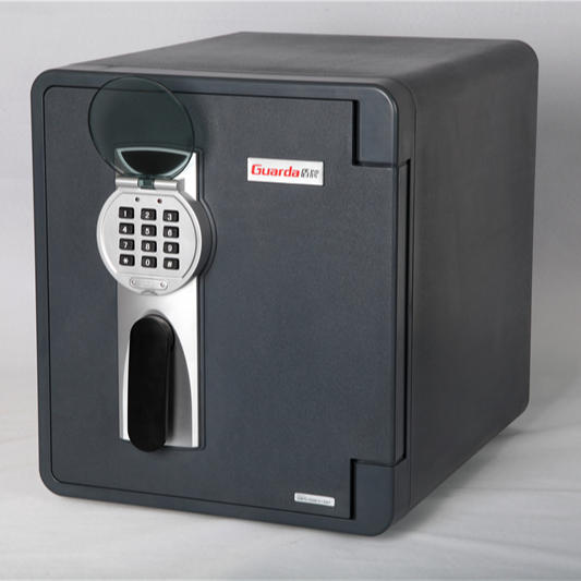 GUARDA Modern office/home/hotel electronic digital lock 2092DC-BD fireproof safe box with AA batteries included (x4)