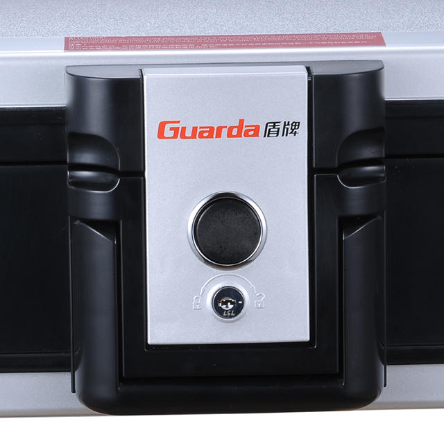 Guarda 30 Mins Durable Resin Casing Texture Material Fire Proof Safe and Water Proof Safety Box, Fit B5 Paper