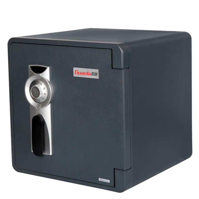 Mechanical dial lock safety cash home fireproof safe box water resistant(2092C-BD),black color