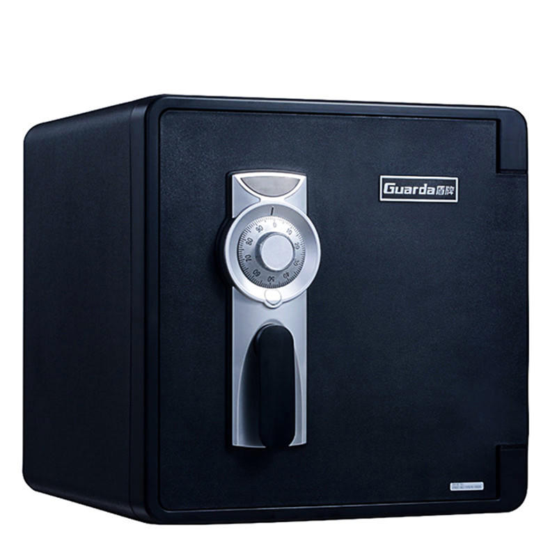 Black Fireproof hotel safety Modern design plastic deposit boxes ,used to protect jewellery or files(2092DC-BD)