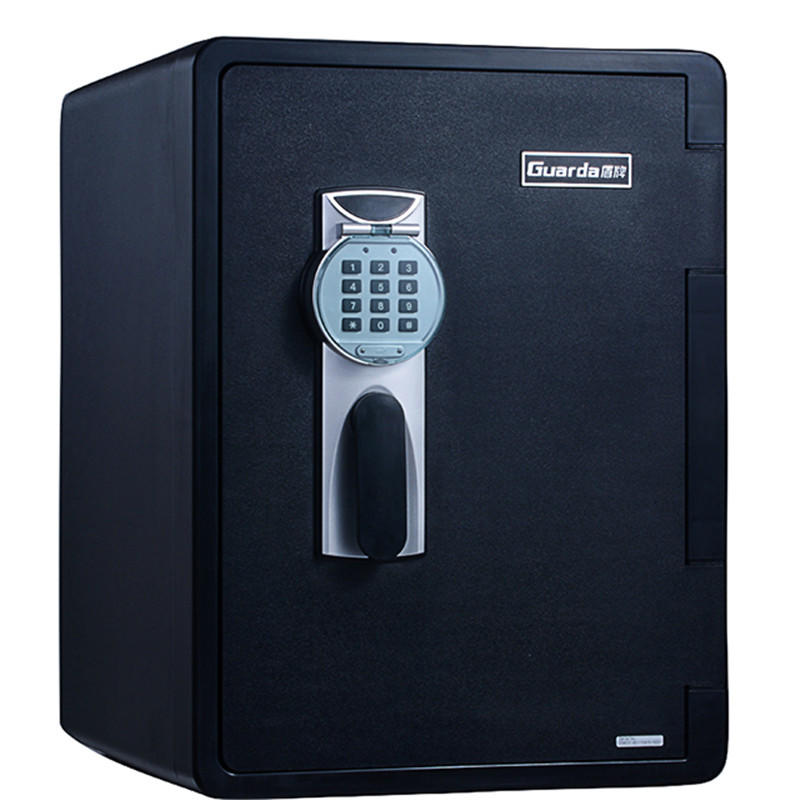 Black Office safety box 2096DC-BD /ul 1 hour fireproof / Waterproof/digital lock pad with cover protected