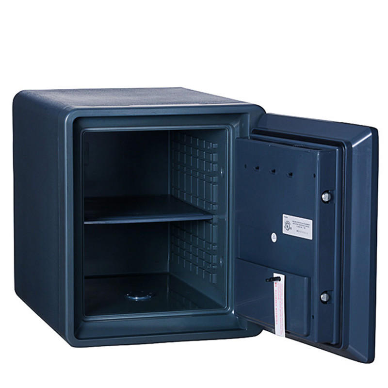 Black Fireproof Safe water proof cabinet FingerMark Commercial office Safes For Sale(2087LBC-BD)