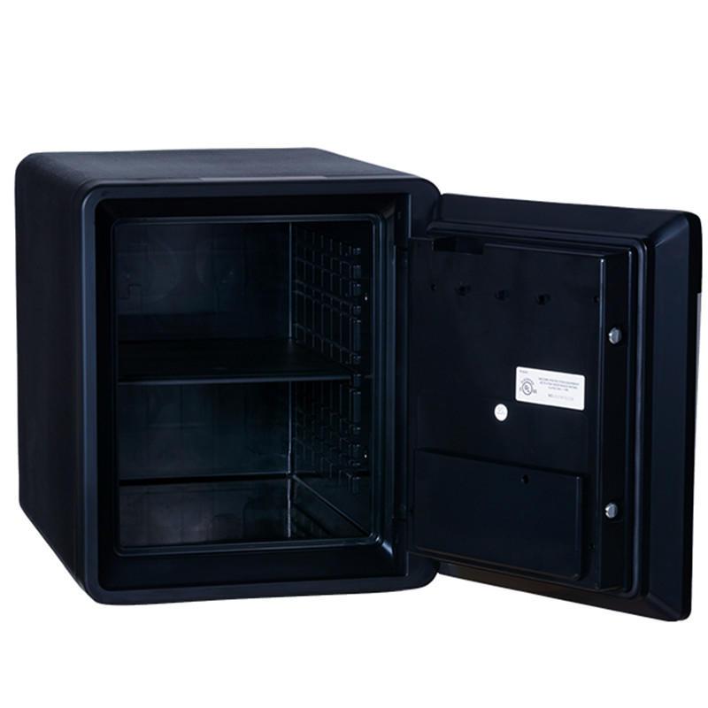 Black Fireproof Safe water proof cabinet FingerMark Commercial office Safes For Sale(2087LBC-BD)