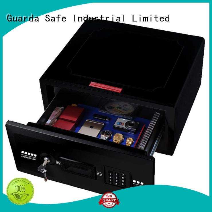 Guarda safe2096cbdblack fireproof safe box for business for home