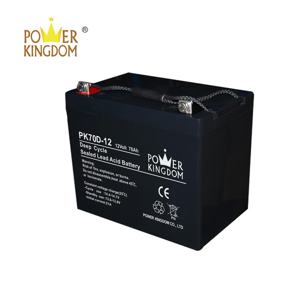 12V 70AH batteries 12volt deep cycle battery supplier of solar battery