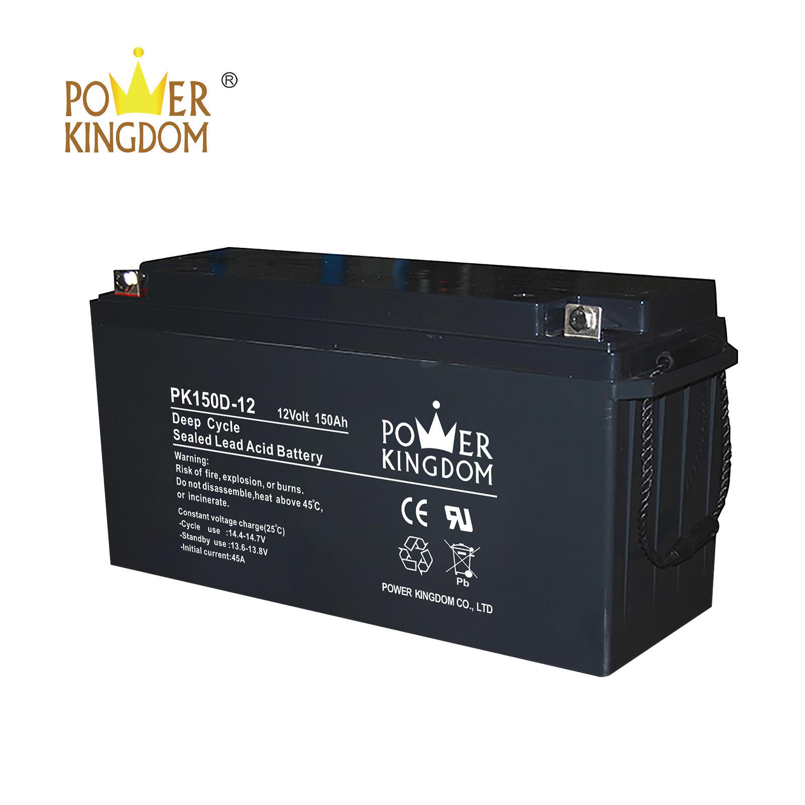 solar system battery long life cheap 12v 150ah deep cycle lead acid battery