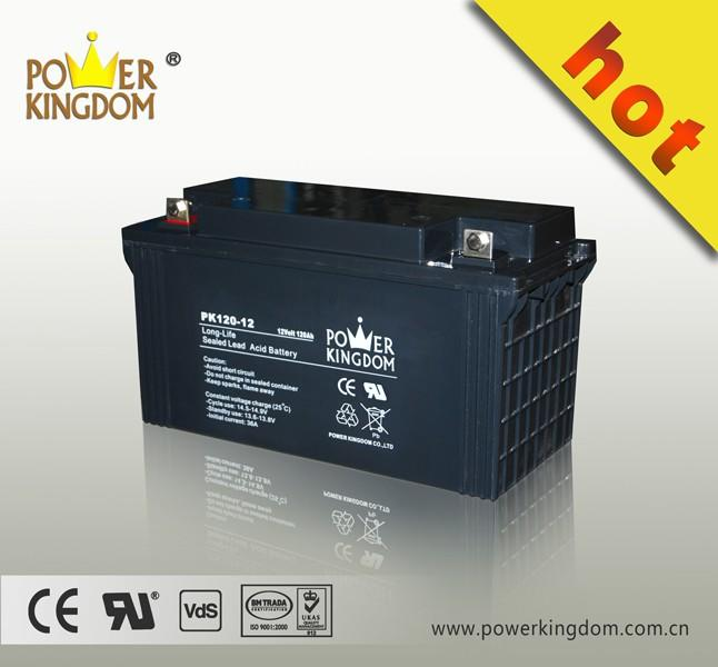 UL,CE,ISO ,MSDS 2016 battery 12v 120ah deep cycle 12v 120ah solar battery